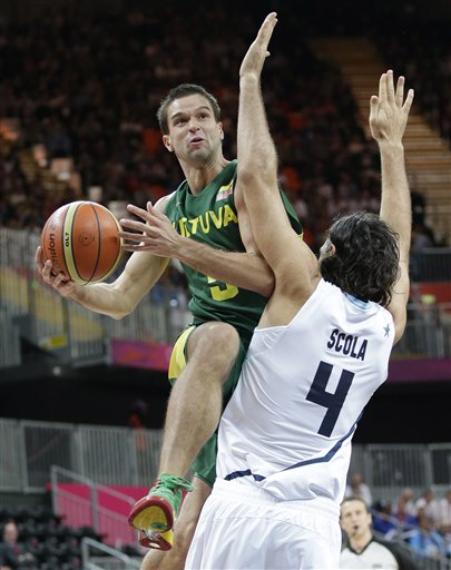 Mantas Kalnietis, Luis Scola