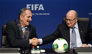 Aldo Rebelo, Joseph Blatter