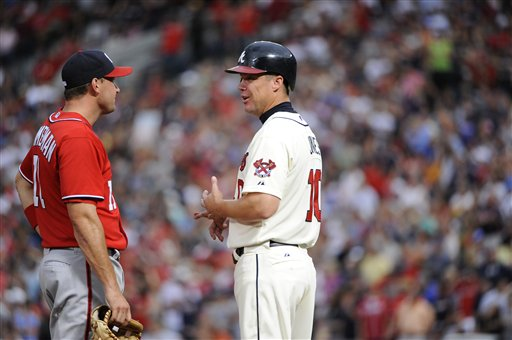 Chipper Jones, Ryan Zimmerman