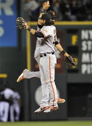 Brandon Crawford, Angel Pagan