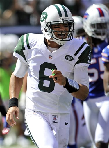 Jets Spectacular Sanchez Football