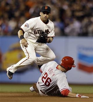 Marco Scutaro, Chase Utley