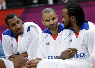 Ronny Turiaf, Boris Diaw, Tony Parker