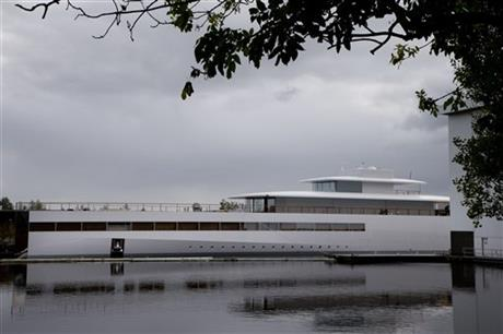 Netherlands Steve Jobs Yacht