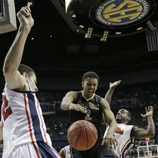 SEC Vanderbilt Mississippi Basketball