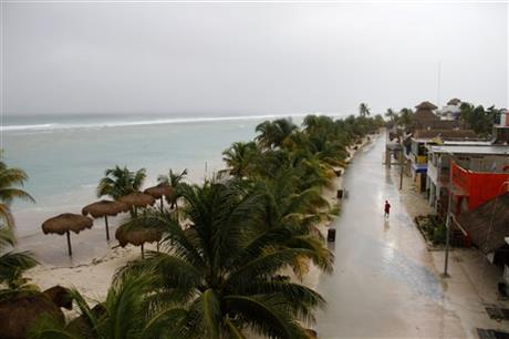 CORRECTION Mexico Tropical Weather