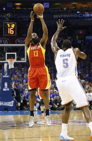 James Harden, Kendrick Perkins