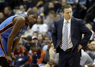 Kevin Durant, Scott Brooks
