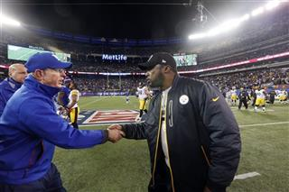 Mike Tomlin, Tom Coughlin
