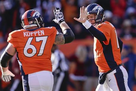 Peyton Manning, Dan Koppen