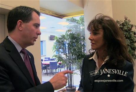 Scott Walker, Diane Hendricks