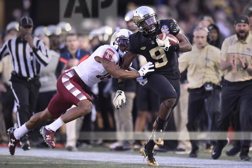 Military Bowl Wake Forest Temple Football