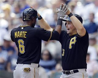 Starling Marte, Travis Snider