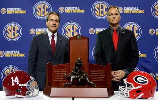 Nick Saban, Mark Richt