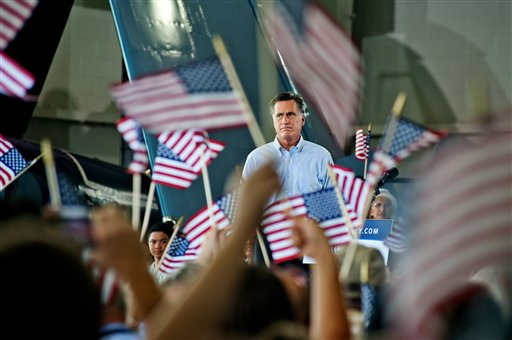 Republican presidential nominee Mitt Romney, Victory Rally