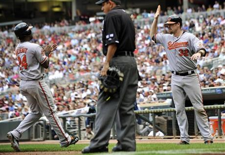 Wilson Betemit, Matt Wieters, Alfonso Marquez