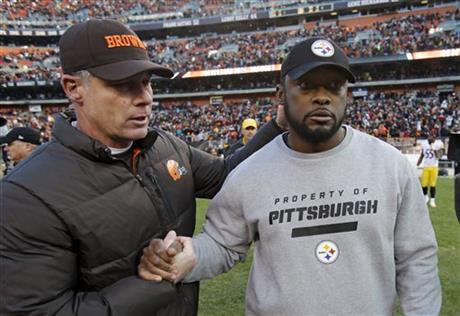 Pat Shurmur, Mike Tomlin