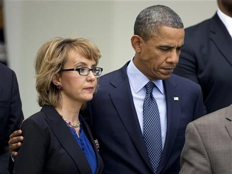 Barack Obama, Gabrielle Giffords