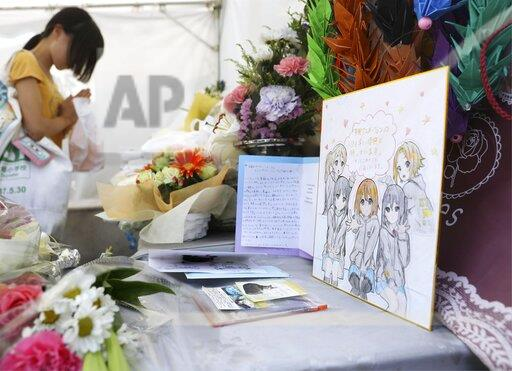 One month after arson attack on Kyoto Animation studio