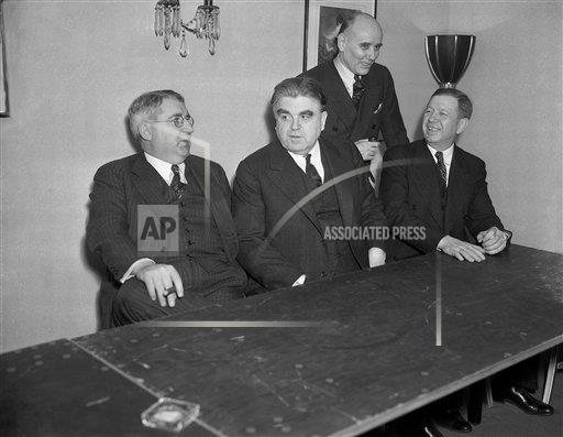 Watchf AP A  NY USA APHS322291 Agree On Coal Strike Settlement 1937