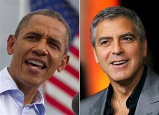 Obama-George Clooney