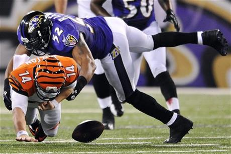 Andy Dalton, Ray Lewis