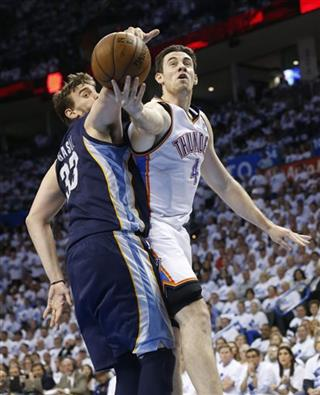 Nick Collison, Marc Gasol