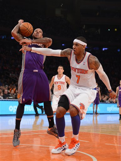 Carmelo Anthony, Shannon Brown