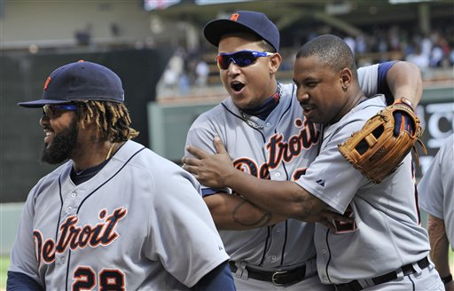Prince Fielder, Miguel Cabrera, Delmond Young