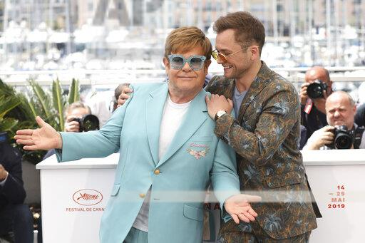 APTOPIX France Cannes 2019 Rocketman Photo Call