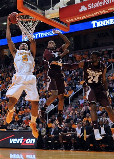 Tennessee Mississippi St Basketball