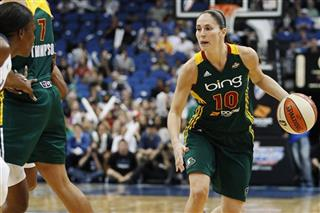 Sue Bird, Monica Wright