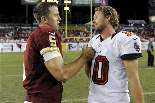 Billy Cundiff, Connor Barth