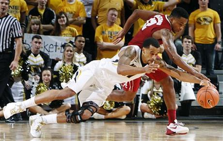 Alabama Missouri Basketball