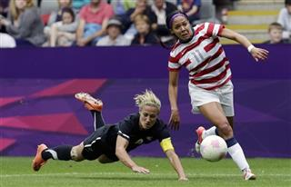 US Women Leroux Racial Abuse Soccer
