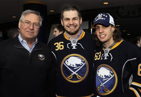 Terry Pegula, Patrick Kaleta, Tyler Ennis