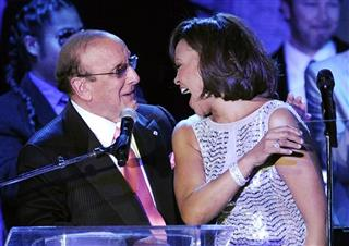 Whitney Houston, Clive Davis