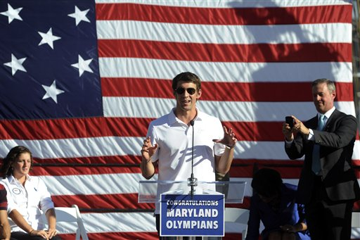 Michael Phelps, Martin O'Malley