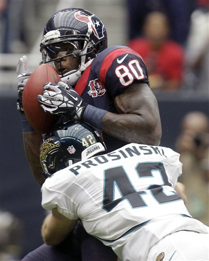 Andre Johnson, Chris Prosinski