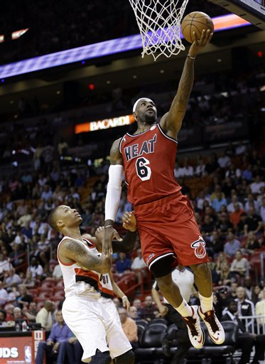 LeBron James, Damian Lillard