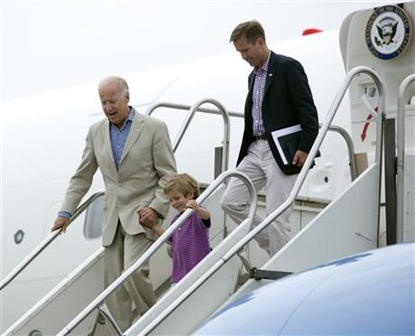 Joe Biden, Beau Biden, Hunter Biden