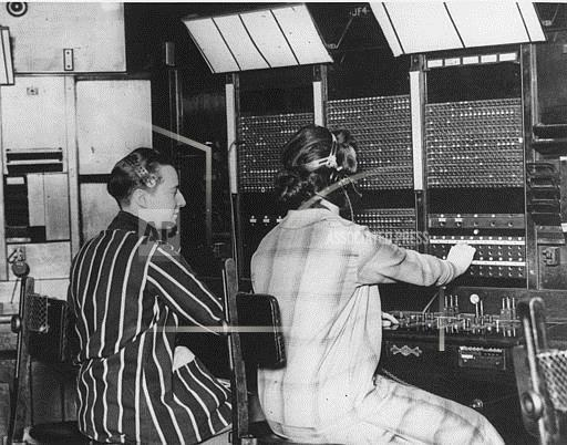 Associated Press International News England United Kingdom RADIO TELEPHONE SWITCHBOARD