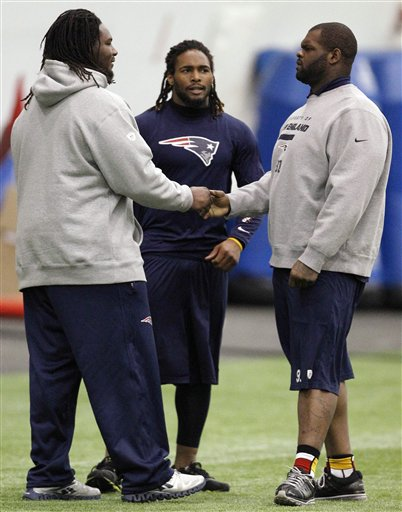 Brandon Bolden, Ron Brace, Jeremiah Warren