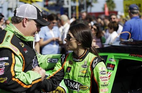 Tony Gibson, Danica Patrick