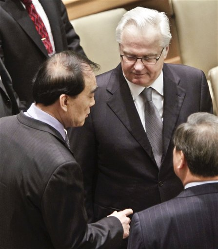 Vitaly Churkin, Li Baodong