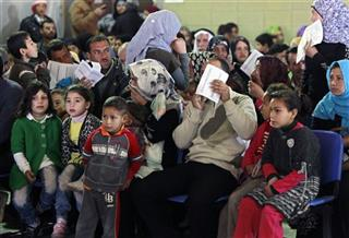Mideast Lebanon Syrian Refugees
