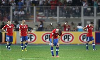 Peru Chile WCup Soccer