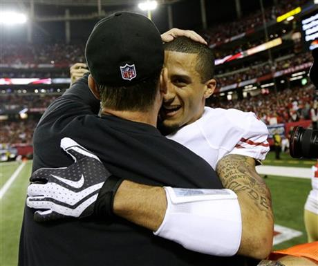 Jim Harbaugh, Colin Kaepernick