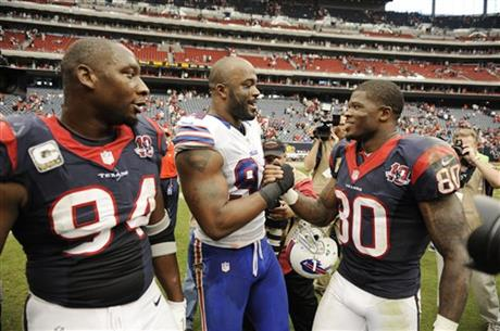 Antonio Smith, Andre Johnson, Mario Williams