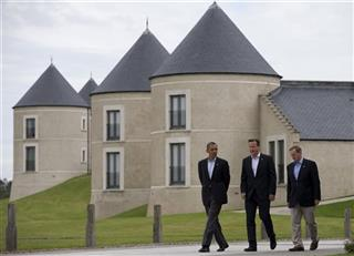 Barack Obama, David Cameron, Enda Kenny